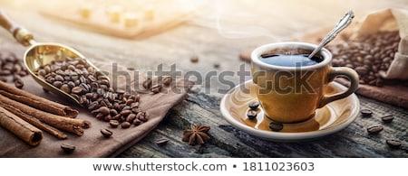 kötél · kávé · űr · háttér · felirat · ital - stock fotó © elmiko