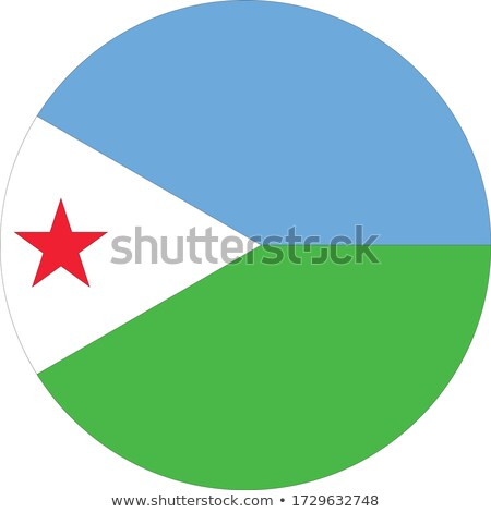 Djibouti Flag icon. Stock photo © zeffss