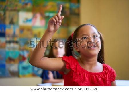 bambino · pregando · esterna · ragazza · estate · kid - foto d'archivio © andreykr