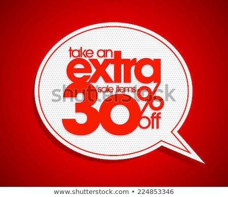 Take 30% Off Coupon Stock photo © kbuntu