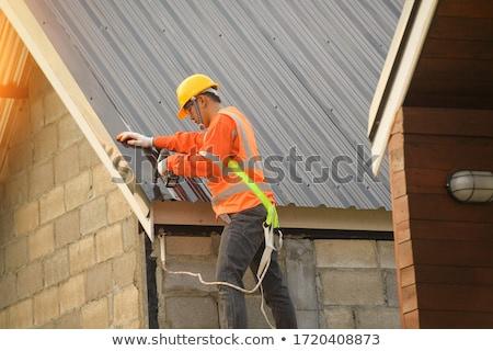 Workman with a drill Stock photo © photography33