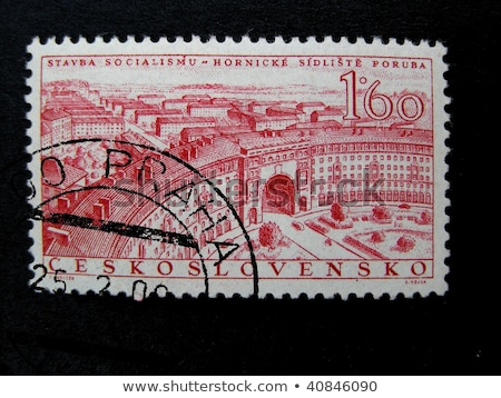 Czechoslovakian  post stamp Stock photo © Taigi
