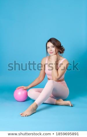 beautiful woman stretches out her hands in chains stock photo © acidgrey