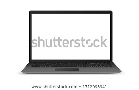 黒 タブレット アイコン コンピュータ ワイヤレス ストックフォト © cifotart