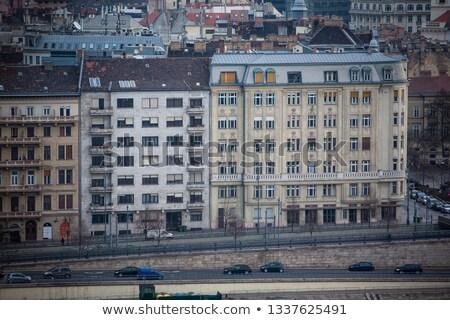 Сток-фото: Будапешт · домах · город · Венгрия · квартиру