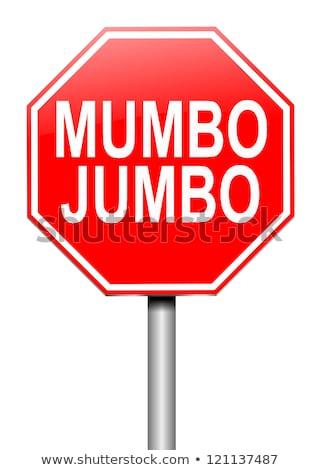Legal mumbo jumbo Stock photo © Stocksnapper