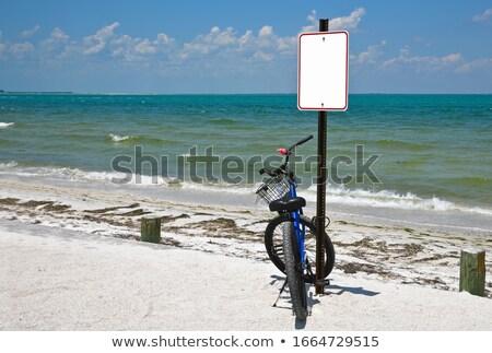 motosiklet · park · boş · otopark · hizmet · trafik - stok fotoğraf © lunamarina