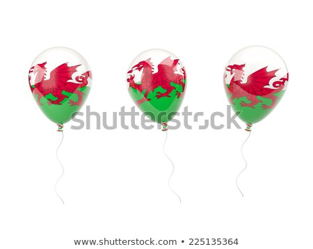 Balloon colored in  national flag of wales    Stock photo © vepar5