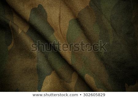 silhueta · laranja · militar - foto stock © bokica