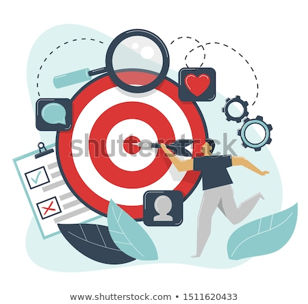 Brand Concept - Hit Target. Stock photo © tashatuvango
