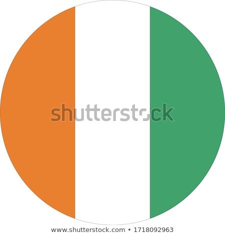 irlandés · bandera · Irlanda · esfera · aislado · blanco - foto stock © zeffss
