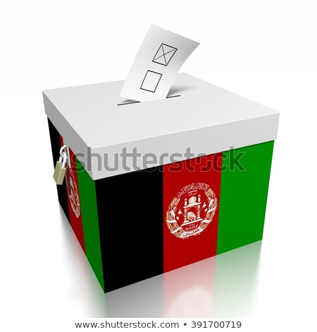 Ballot box Afghanistan Stock photo © Ustofre9