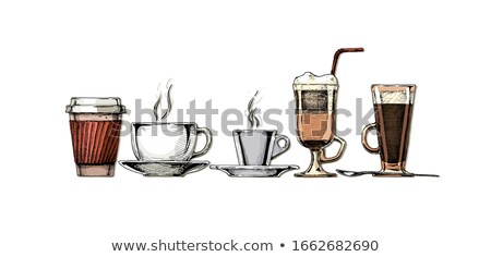 Hot beverage. Stock photo © lithian