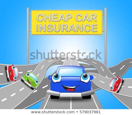 Cheapest Car Insurance Policies Stock photo © stevanovicigor