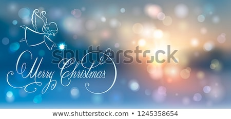 background with brilliant ice and inscription Stock photo © yurkina