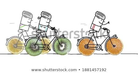 fruity cyclist stock photo © fisher