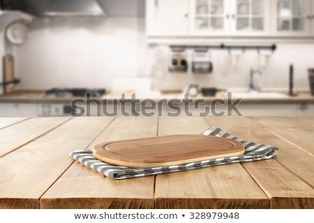 Pasen · keuken · ingrediënten · warme · chocolademelk · eieren - stockfoto © konradbak