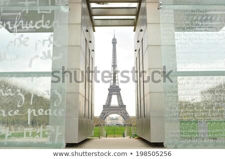 Torre · Eiffel · pormenor · universal · ponto · de · referência · Paris · cidade - foto stock © smartin69