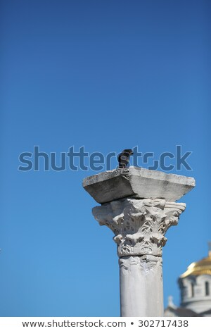 христианской · храма · силуэта · Восход · крест · Церкви - Сток-фото © victoria_andreas
