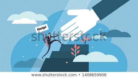szolgáltatás · harang · 3d · emberek · férfiak · személy · támogatás - stock fotó © lightsource