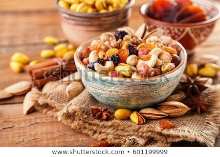 сушат фрукты орехи чаши десерта Sweet Сток-фото © Digifoodstock