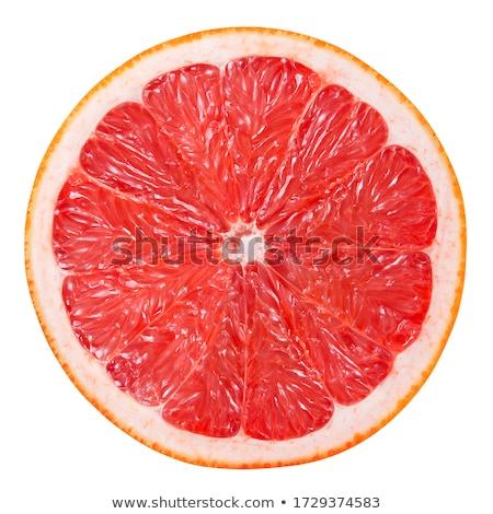 rebanadas · rojo · pomelo · frescos · alimentos - foto stock © Digifoodstock