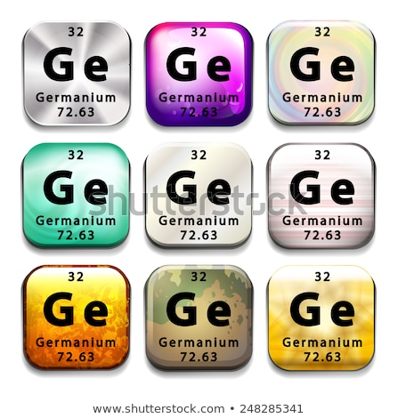 a survey of the chemical element germanium This webelements periodic table page contains compounds information for the element germanium.