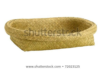 Vide osier plateau panier objet Photo stock © Digifoodstock