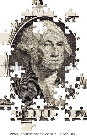 Mortgage - Jigsaw Puzzle with Missing Pieces. Stock photo © tashatuvango