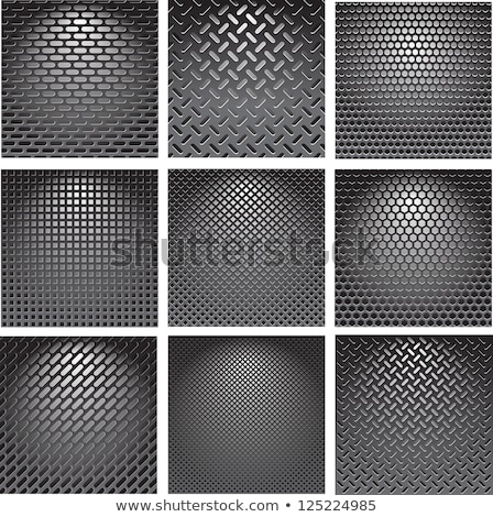 Red Perforated Grid Background Stock photo © derocz