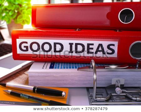 良い 考え リング 画像 オフィス デスクトップ ストックフォト © tashatuvango