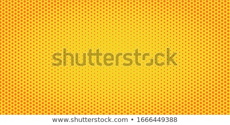 Pomarańczowy półtonów pop art retro vintage Zdjęcia stock © studiostoks