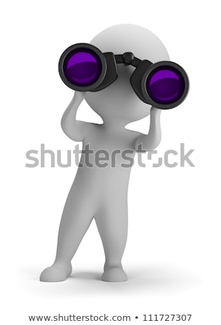 3d small people   job search stock photo © anatolym