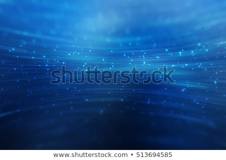 abstract blue background with glowing lines stock photo © sarts