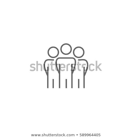 professionali · imprenditrice · isolato · bianco · moderno · abito · nero - foto d'archivio © maryvalery