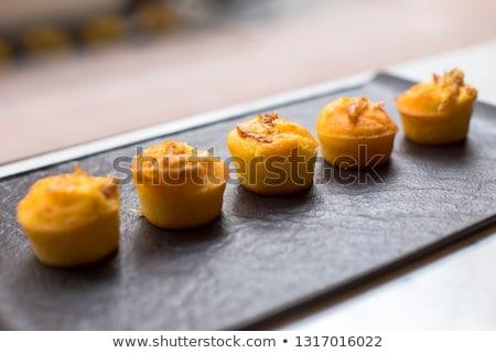 Proja corn bread appertizer Stock photo © boggy
