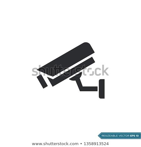 Security camera icon Stock photo © angelp