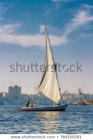 sailboats in aswan stock photo © givaga