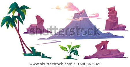 A nature prehistoric scene Stock photo © colematt