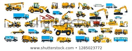 Construction Equipment, Machinery for Building Stock photo © robuart