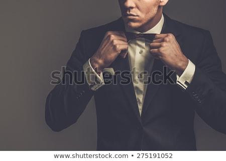 Man dandy, cool gentleman Stock photo © studiostoks