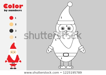 Cizim Noel Baba Karikatur Ornek Etkinlik Vektor