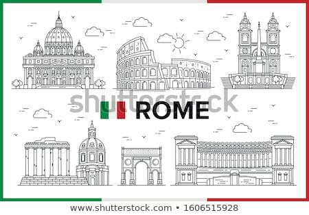 Колизей Рим Италия туризма Сток-фото © ShustrikS