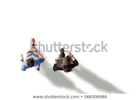 3d · человек · рынке · 3d · визуализации · человек · работает - Сток-фото © spectral