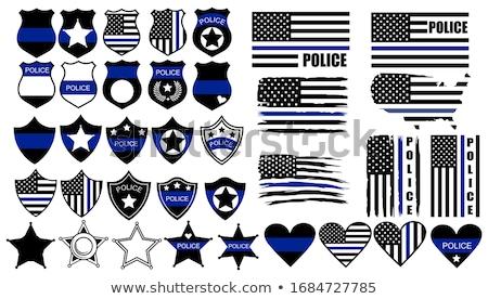 военных полиции ветеран Знак острый уникальный Сток-фото © jeff_hobrath