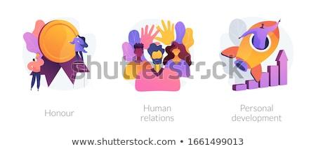 Honour abstract concept vector illustration. Stock photo © RAStudio