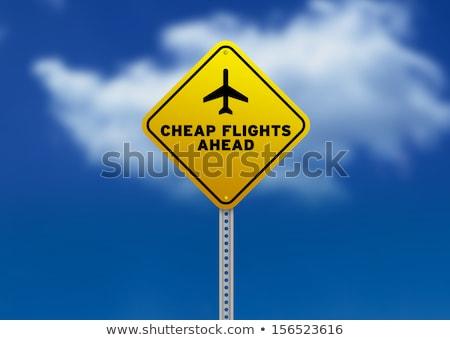 Сток-фото: специальный · шоссе · знак · высокий · разрешение · графических · облаке
