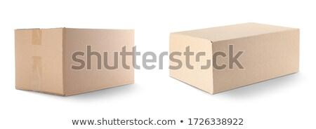 closed carton Stock photo © prill