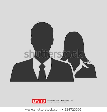 Male and female business duo Stock photo © photography33