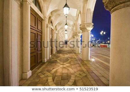 Corridor Of Europe Style In Macau Foto d'archivio © cozyta